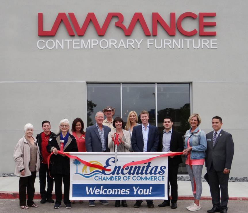 Beau Ribbon Cutting   Lawrance Contemporary Furniture   Encinitas Chamber Of  Commerce